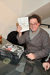MARCO PIERRE WHITE at a private view to celebrate the 25th anniversary of the publication of White Heat featuring the photographs by Bob Carlos Clarke of Marco Pierre White held at the Little Black Gallery, 13 A Park Walk, London on 10th February 2015.