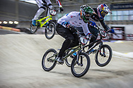 #6 (EVANS Kyle) GBR during practice at the 2019 UCI BMX Supercross World Cup in Manchester, Great Britain