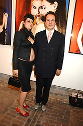 DETMAR BLOW and MARA CASTILHO at the launch of 'Glenmorangie 5 Senses' an exhibition of photographs by Mike Figgis held at Proud Camden, Stables Market, London NW1 on 13th May 2008.<br /><br />NON EXCLUSIVE - WORLD RIGHTS
