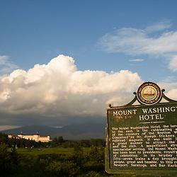 The Mount Washington Hotel in Twin Mountain, New Hampshire.