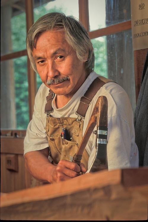 Master Carver, Nathan Jackson, Saxman, Alaska