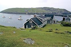 Monhegan Island Harbor / Scenic