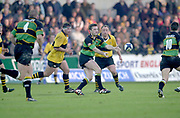 Northampton, Northamptonshire, UK, 08.12.2001, <br /> Northampton Saints vs  London Wasps, Zurich Premiership Rugby, Franklyn Gardens, [Mandatory Credit: Peter Spurrier/Intersport Images]<br /> 8-12-2001