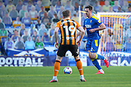 AFC Wimbledon defender Ben Heneghan (22) dribbling during the EFL Sky Bet League 1 match between AFC Wimbledon and Hull City at Plough Lane, London, United Kingdom on 27 February 2021.