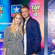 NLD/Utrecht/20190622 - Filmpremiere Toy Story 4, Dave Dekker en partner