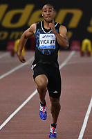 Jimmy VICAUT FRA 100m Men <br /> Roma 03-06-2016 Stadio Olimpico <br /> IAAF Diamond League Golden Gala <br /> Atletica Leggera<br /> Foto Andrea Staccioli / Insidefoto