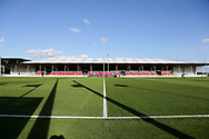 Side view of ground during the UEFA European Under 17 Championship 2018 match between Israel and Italy at St George's Park National Football Centre, Burton-Upon-Trent, United Kingdom on 10 May 2018. Picture by Mick Haynes.
