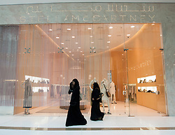 Stella McCartney fashion boutique in Dubai Mall in United Arab Emirates UAE Middle East