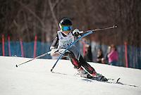 Francis Piche Invitational J4 Slalom 2nd run March 18, 2012.