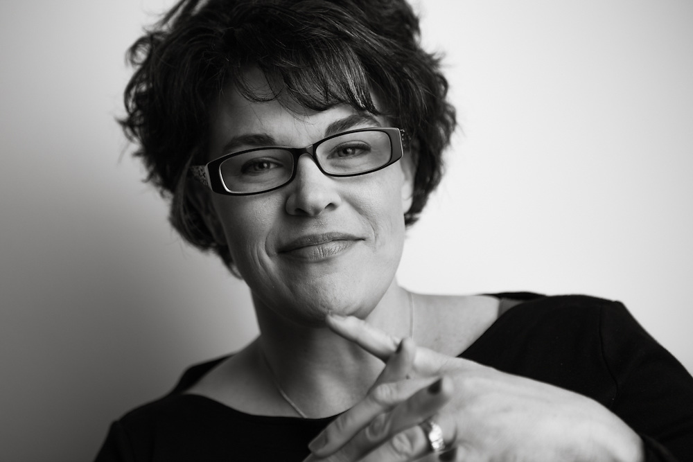 10 April 2012- Traci Osuna is photographed at minorwhite studios for Omaha Magazine.