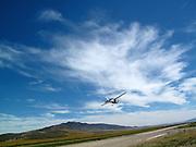 Glider at Cedar Valley, Utah