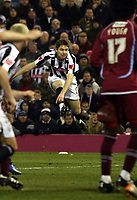 Photo: Mark Stephenson/Sportsbeat Images.<br /> West Bromwich Albion v Scunthorpe United. Coca Cola Championship. 29/12/2007.West Brom's Zoltan Gera fires in his goal and the 4th  of the game