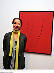 MICHELLE OGUNDEHIN at the Moet Hennessy Pavilion of Art & Design London Prize 2009 held in Berkeley Square, London on 12th October 2009.