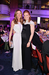 Left to right, HEATHER KERZNER and SARAH, DUCHESS OF YORK at the Caudwell Children's annual Butterfly Ball held at The Grosvenor House Hotel, Park Lane, London on 15th May 2014.