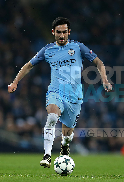 Ilkay Gundogan of Manchester City during the Champions League Group C match at the Etihad Stadium, Manchester. Picture date: December 6th, 2016. Pic Simon Bellis/Sportimage