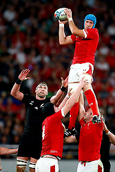 Justin Tipuric of Wales during the Bronze Final match between New Zealand and Wales Mandatory by-line: Steve Haag Sports/JMPUK - 01/11/2019 - RUGBY - Tokyo Stadium - Tokyo, Japan - New Zealand v Wales - Bronze Final - Rugby World Cup Japan 2019