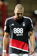 Nottingham Forest midfielder Pajtim Kasami (22) looking down during the EFL Sky Bet Championship match between Brentford and Nottingham Forest at Griffin Park, London, England on 16 August 2016. Photo by Matthew Redman.
