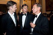 IAN BOSTRIDGE; BEN BRADSHAW; MICHAEL PORTILLO, The 2009 Booker Prize dinner. Guildhall. London. 6 October 2009