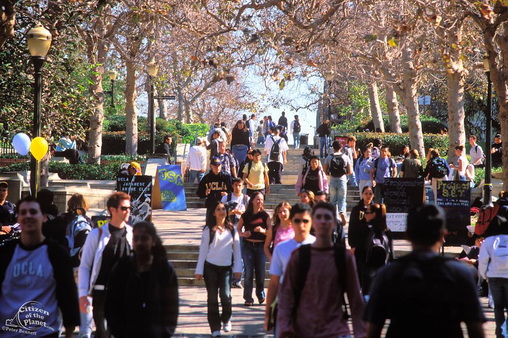 UCLA, Bruin Walk, Los Angeles California, California (LA)