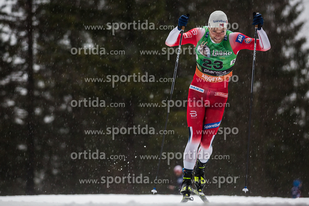 Eirik Brandsdal (NOR) during the Ladies sprint free race at FIS Cross Country World Cup Planica 2019, on December 21, 2019 at Planica, Slovenia. Photo By Peter Podobnik / Sportida