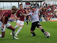 Football - 2019 / 2020 pre-season friendly - Northampton vs. Sheffield United<br /> <br /> John Fleck of Sheff Utd, at Sixfields Stadium.<br /> <br /> COLORSPORT/ANDREW COWIE