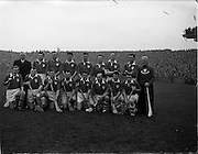 17/03/1960<br /> 03/17/1960<br /> 17 March 1960<br /> Railway Cup Finals: Munster v Leinster at Croke Park, Dublin. Munster team.