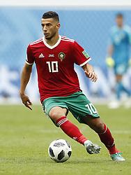 Younes Belhanda of Morocco