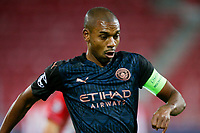 PIRAEUS, GREECE - NOVEMBER 25: Raheem Sterling of Manchester City during the UEFA Champions League Group C stage match between Olympiacos FC and Manchester City at Karaiskakis Stadium on November 25, 2020 in Piraeus, Greece. (Photo by MB Media)