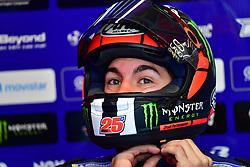 May 18, 2018 - Le Mans, France - 25 MAVERICK VINALES (ESP) MOVISTAR YAMAHA MOTOGP (JPN) YAMAHA YZR M1 (Credit Image: © Panoramic via ZUMA Press)