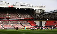 Football - 2020 / 2021 Premier League - Manchester United vs Burnley - Old Trafford<br /> <br /> Minutes silence at Old Trafford<br /> <br /> Credit COLORSPORT/LYNNE CAMERON