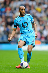 Younes Kaboul (FRA) of Tottenham Hotspur in action - Photo mandatory by-line: Rogan Thomson/JMP - 07966 386802 - 12/04/2014 - SPORT - FOOTBALL - The Hawthorns Stadium - West Bromwich Albion v Tottenham Hotspur - Barclays Premier League.