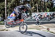 #380 (DE SOUZA FILHO Anderson Ezequiel) BRA during practice at Round 5 of the 2018 UCI BMX Superscross World Cup in Zolder, Belgium