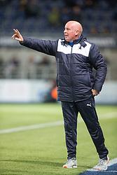 Falkirk's manager Peter Houston. Falkirk 0 v 1 Hibernian, Scottish Championship game played 20/10/2015 at The Falkirk Stadium.