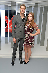 TANYA BURR and JIM CHAPMAN at the Louis Vuitton Series 3 VIP Launch held at 180 Strand, London on 20th September 2015.