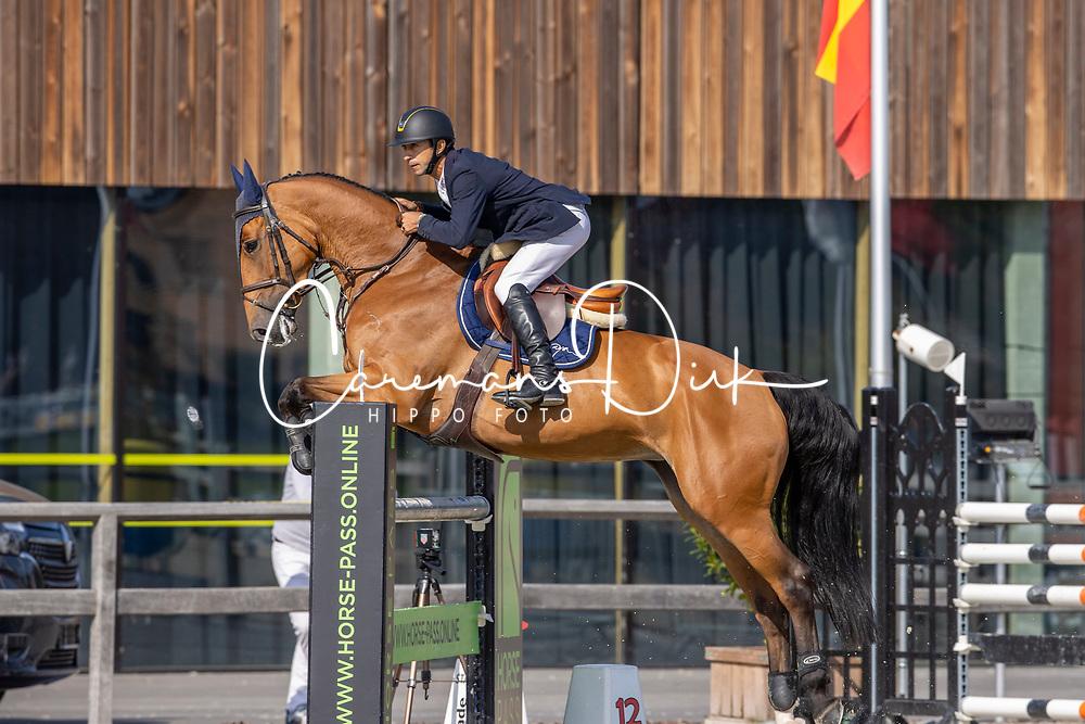 Arroyave Dayro, COL, Os Le Petit Cheval<br /> Belgian Championship 6 years old horses<br /> SenTower Park - Opglabbeek 2020<br /> © Hippo Foto - Dirk Caremans<br />  13/09/2020