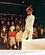 Selina Blow( green hat ), Isabella Blow, Bryan Ferry and Detmar Blow amongst others in fron row. Philip Treacy fashion show. 21/2/99. © Copyright Photograph by Dafydd Jones<br /> 66 Stockwell Park Rd. London SW9 0DA Tel 0171 733 0108