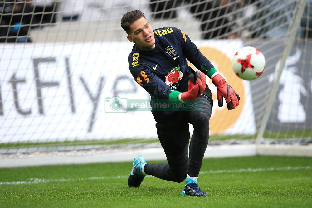 10 November 2017 -  International Friendly - Japan v Brazil - Ederson of Brazil - Photo: Marc Atkins/Offside