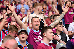 May 27, 2019 - London, England, United Kingdom - Aston Villa supporter during the Sky Bet Championship match between Aston Villa and Derby County at Wembley Stadium, London on Monday 27th May 2019. (Credit: Jon Hobley | MI News) (Credit Image: © Mi News/NurPhoto via ZUMA Press)