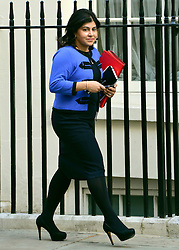 © Licensed to London News Pictures. 18/09/2012. Westinster, UK Baroness Warsi. Cabinet meeting today in Downing Street 18 September 2012. Photo credit : Stephen Simpson/LNP