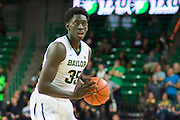 WACO, TX - DECEMBER 17: Johnathan Motley #35 of the Baylor Bears brings the ball up court against the New Mexico State Aggies on December 17, 2014 at the Ferrell Center in Waco, Texas.  (Photo by Cooper Neill/Getty Images) *** Local Caption *** Johnathan Motley
