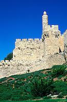Israel - Jerusalem - Tour de David - Rempart de la vieille ville