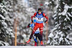 March 9, 2019 - –Stersund, Sweden - 190309 Vytautas Strolia of Lithuania competes in the Men's 10 KM sprint during the IBU World Championships Biathlon on March 9, 2019 in Östersund..Photo: Petter Arvidson / BILDBYRÃ…N / kod PA / 92252 (Credit Image: © Petter Arvidson/Bildbyran via ZUMA Press)