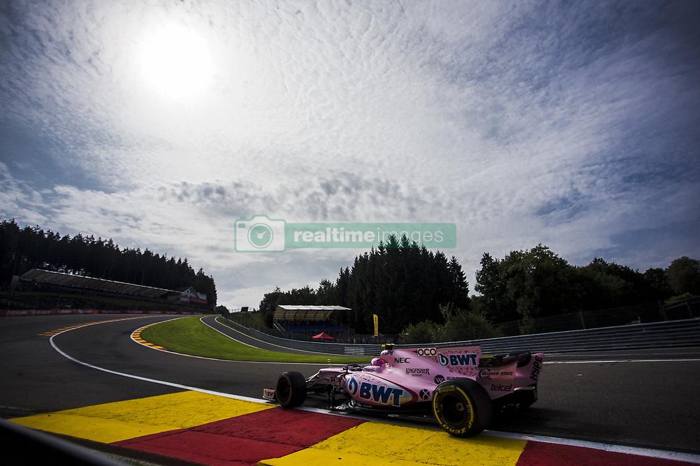 August 25, 2017 - Spa, Belgium - 31 OCON Esteban from France Force India during the Formula One Belgian Grand Prix at Circuit de Spa-Francorchamps on August 25, 2017 in Spa, Belgium. (Credit Image: © Xavier Bonilla/NurPhoto via ZUMA Press)