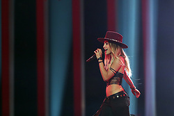 May 7, 2018 - Lisbon, Portugal - Singer ZiBBZ of Switzerland performs during the Dress Rehearsal of the first Semi-Final of the 2018 Eurovision Song Contest, at the Altice Arena in Lisbon, Portugal on May 7, 2018. (Credit Image: © Pedro Fiuza/NurPhoto via ZUMA Press)