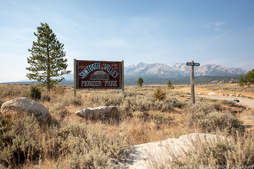 Pioneer Park in Stanley, Idaho