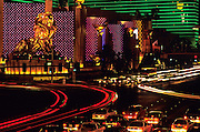Image of The MGM Grand Hotel & Casino on The Strip in Las Vegas, Nevada, American Southwest by Andrea Wells