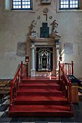 Wnętrze synagogi Izaaka Jakubowicza w Krakowie.<br /> Interior of the synagogue of Isaac Jakubowicz in Cracow.