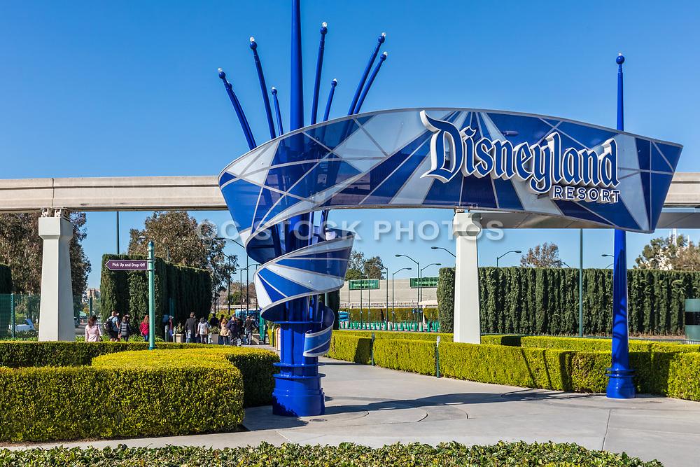 Disneyland Front Entrance at S. Harbor Blvd