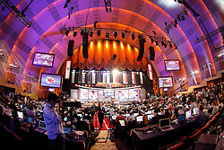 A General view of the hall during the first round of the NFL Draft on April 26th 2012 at Radio City Music Hall in New York, New York. (AP Photo/Brian Garfinkel)