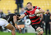 Mitchell Dunshea of Canterbury during the Mitre 10 Cup rugby match between the Wellington Lions & Canterbury at Westpac Stadium, Wellington. Friday 23rd August 2019. Copyright Photo: Grant Down / www.Photosport.nz